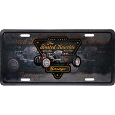 Busted Knuckle Tin Sign - Hot Rod, , scaau_hi-res