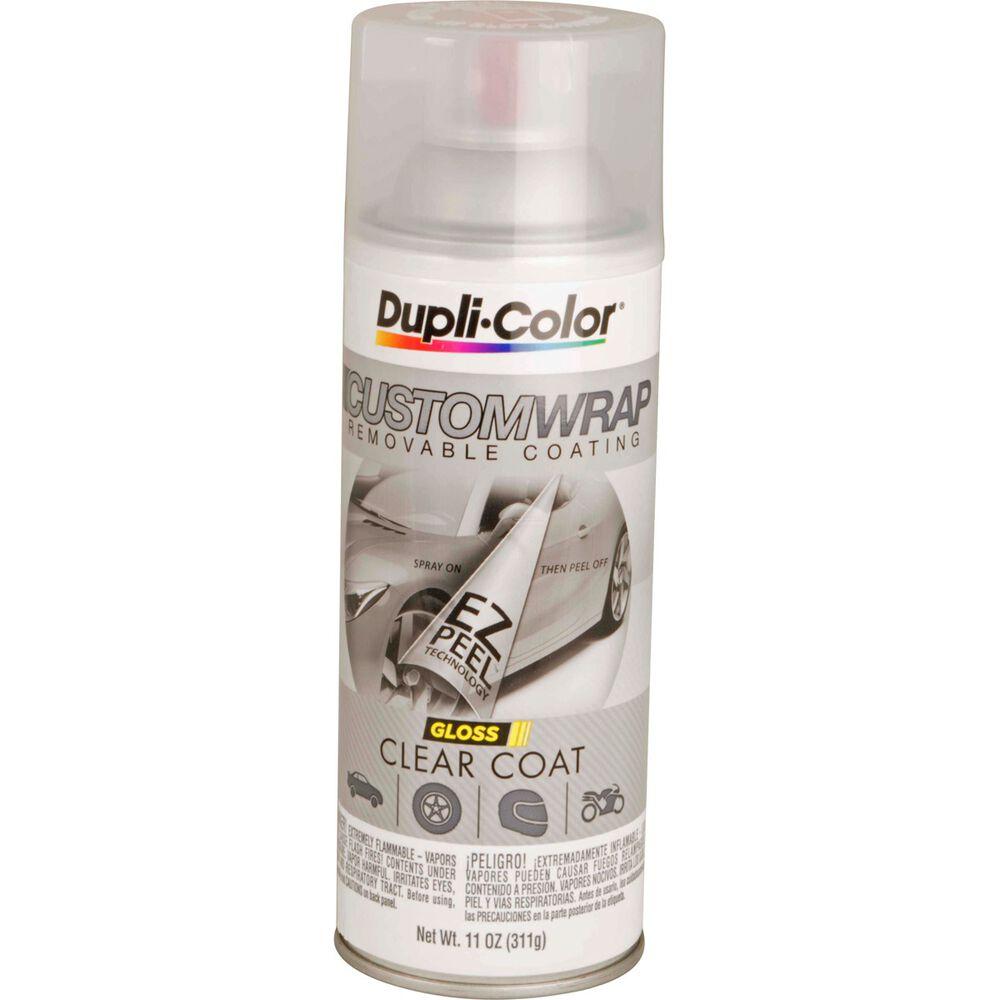 Dupli Color Aerosol Paint Custom Wrap Gloss Clearcoat
