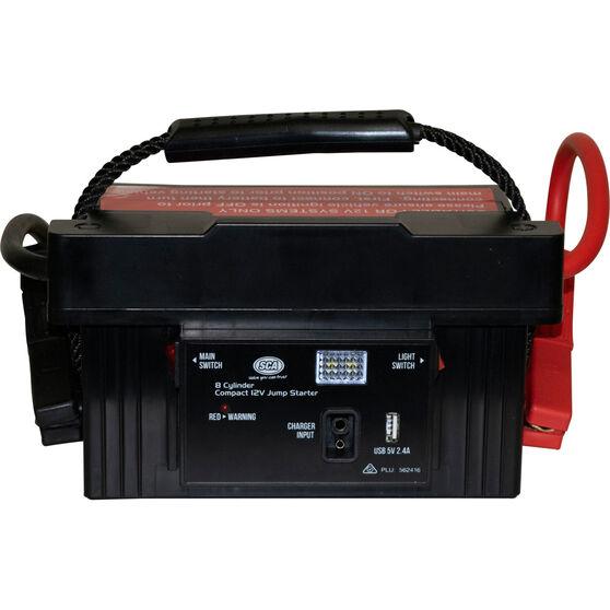 SCA 12V Compact Jump Starter - 8 Cylinder, 1700 Amp, , scaau_hi-res