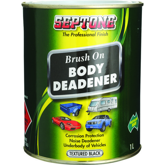 Septone Body Deadener Paint - Black, 1 Litre, , scaau_hi-res