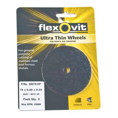 Cut Off Wheel - 50 x .89 x 9.53mm, 3pk, , scaau_hi-res
