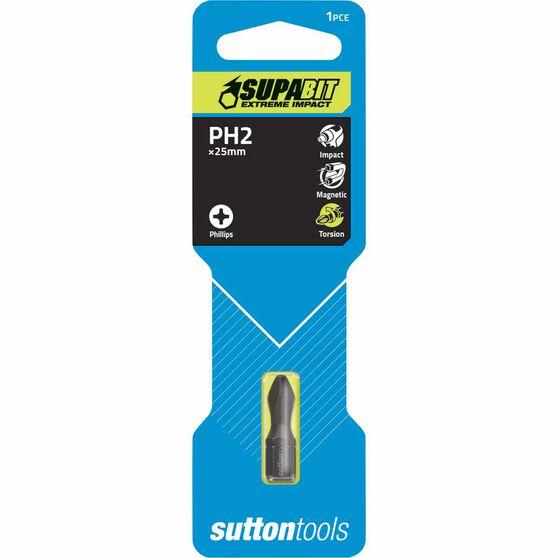 Sutton Torsion Insert Workshop Impact Bit #2 - 25mm, , scaau_hi-res