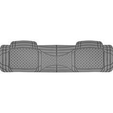 SCA Car Floor Mat - Rubber, Grey, Rear, Single Rear, , scaau_hi-res