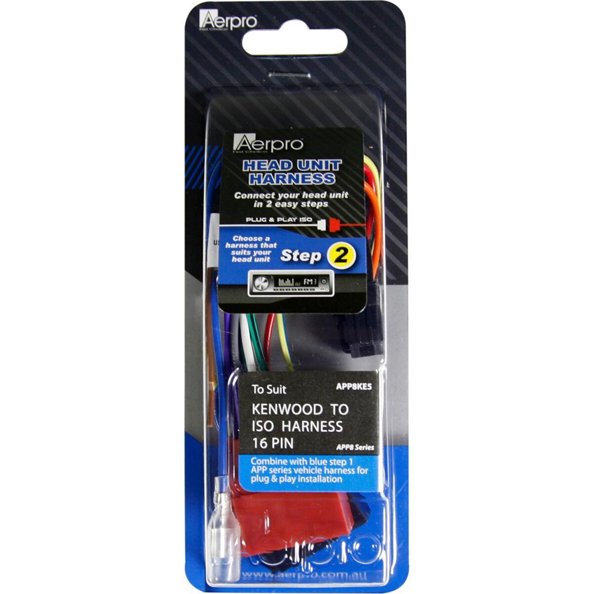wiring harness kenwood 16 pin supercheap auto rh supercheapauto com au Kenwood KDC 128 Wiring Harness Kenwood KDC Mp342u Wiring Harness