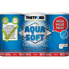 Thetford Toilet Paper Dissolving 6 Pack, , scaau_hi-res