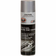 SCA Cold Gal Silver Zinc Coating 400g, , scaau_hi-res
