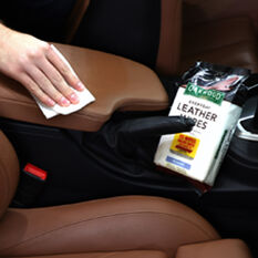 Oakwood Everyday Leather Wipes - 25 Pack, , scaau_hi-res