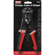 Crimper, Cutter & Stripper - 210mm, , scaau_hi-res