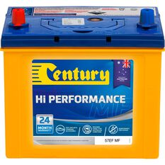Century Hi Performance Car Battery 57EF MF, , scaau_hi-res