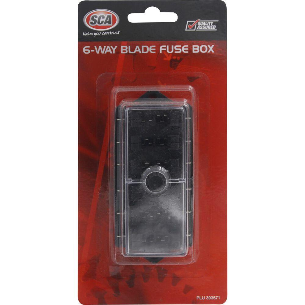 Fuse Box 6 Way Blade Supercheap Auto 12v 1 X 4 Holder Scaau Hi Res