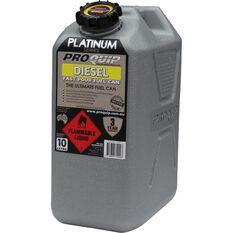 Pro Quip Platinum Diesel Jerry Can 10 Litre, , scaau_hi-res