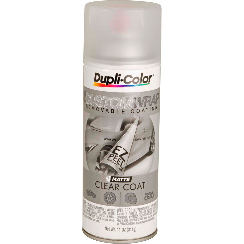 Dupli Color Aerosol Paint Custom Wrap Matte Clearcoat