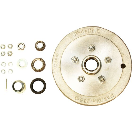 Trojan Trailer Hub Kit - Ford, 5 Stud, Right Hand, , scaau_hi-res