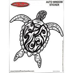 Sticker Tribal turtle SH2771, , scaau_hi-res