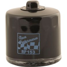Race Performance Motorcycle Oil Filter - RP153, , scaau_hi-res