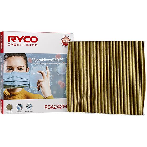 Ryco Cabin Air Filter N99 MicroShield RCA242M, , scaau_hi-res