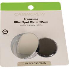 Cabin Crew Blind Spot Mirror - Aluminium 52mm, , scaau_hi-res