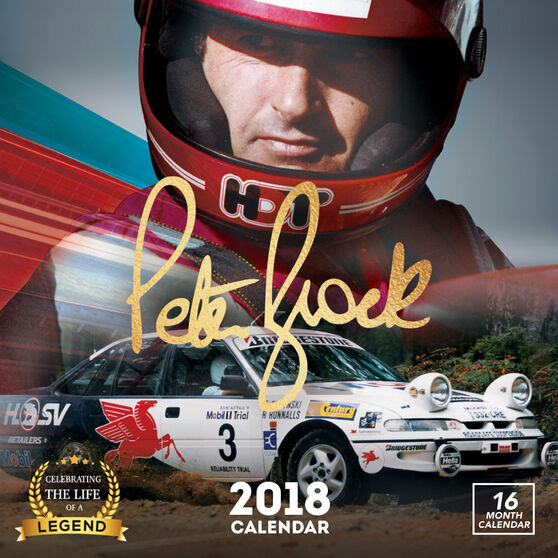 Peter Brock Square 2018 Calendar