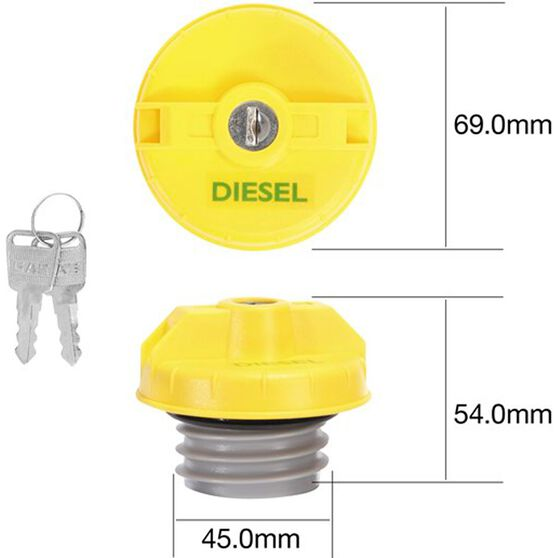 Tridon Locking Fuel Cap - TFL234D, , scaau_hi-res