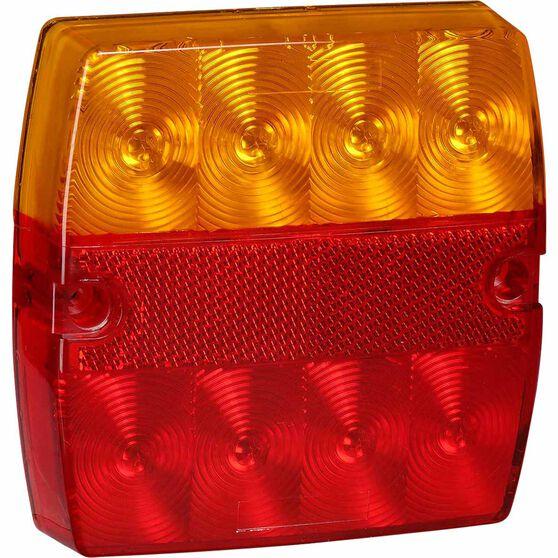 Narva Trailer Lamp - LED, SlimLine Square, Combination, 2 Pack, , scaau_hi-res