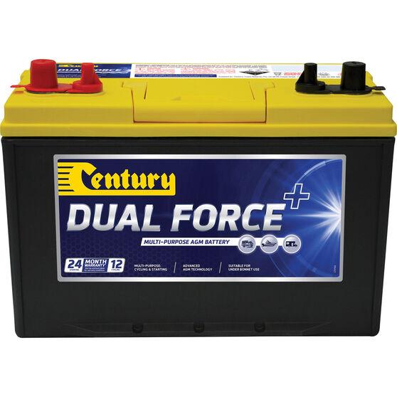 Century Dual Force Dual Purpose Battery 27X MF, , scaau_hi-res