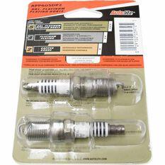 Autolite Double Platinum Spark Plug - APP605DP2, 2 Pack, , scaau_hi-res