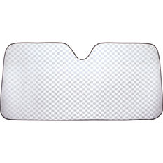 SCA Bubble Sunshade - Check Glitter, Accordion, Front, , scaau_hi-res