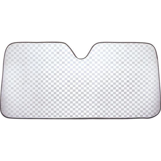 SCA Bubble Sunshade Check Glitter Accordion Front, , scaau_hi-res