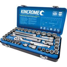 "Kincrome Socket Set 3/8"" Drive Metric/SAE 39 Piece, , scaau_hi-res"