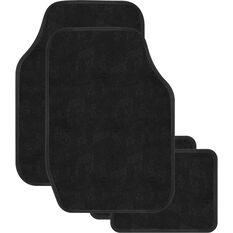 Sperling Elite Carpet Floor Mats  - Black, 4 Pack, , scaau_hi-res