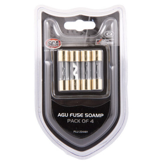 SCA Audio Fuse - 50Amp, 4 Pack, , scaau_hi-res