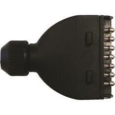 SCA Trailer Plug, Plastic - Flat, 7 Pin, , scaau_hi-res