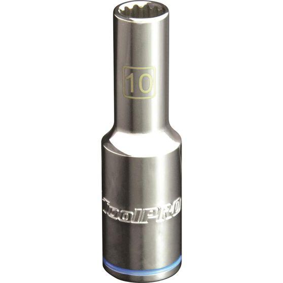 ToolPro Single Socket - Deep, 1 / 2 inch Drive, 10mm, , scaau_hi-res