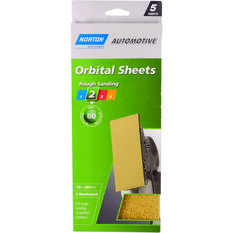 Norton Orbital Sheet - 60 Grit, 5 Pack, , scaau_hi-res
