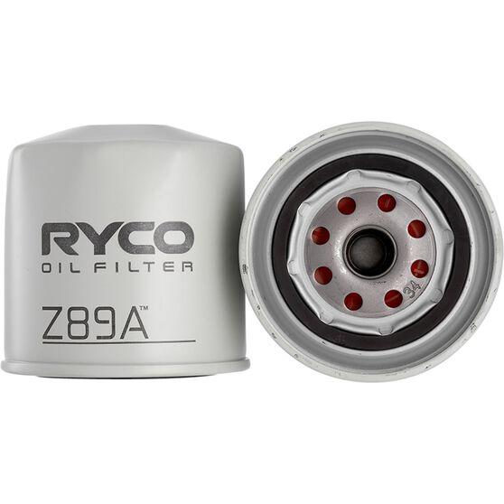 Ryco Oil Filter - Z89A, , scaau_hi-res