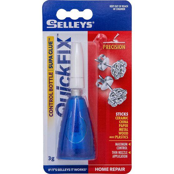 Supa Glue - Quickfix, Control Bottle, 3g, , scaau_hi-res