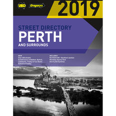 Gregory's UBD Perth Street Directory - 61st Edition, 2019, , scaau_hi-res