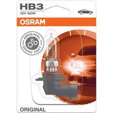 Osram Headlight Globe - HB3, 12V, 60W, , scaau_hi-res