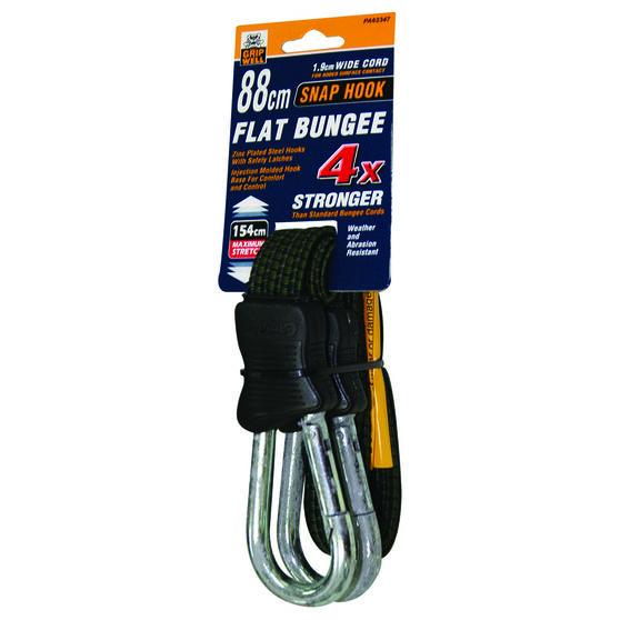 Gripwell Snap Hook Flat Bungee Strap - 88cm, , scaau_hi-res