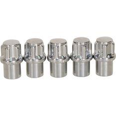 Calibre Wheel Nuts, Shank Lock, Chrome - MLN716, 7 / 16inch, , scaau_hi-res