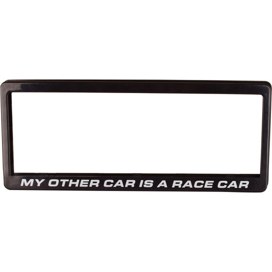 """Number Plate Frame - """"My Other Car Is A Race Car"""", , scaau_hi-res"""