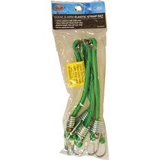 SCA Metal Hook Bungee Cord - 3-Arm, 50cm, , scaau_hi-res
