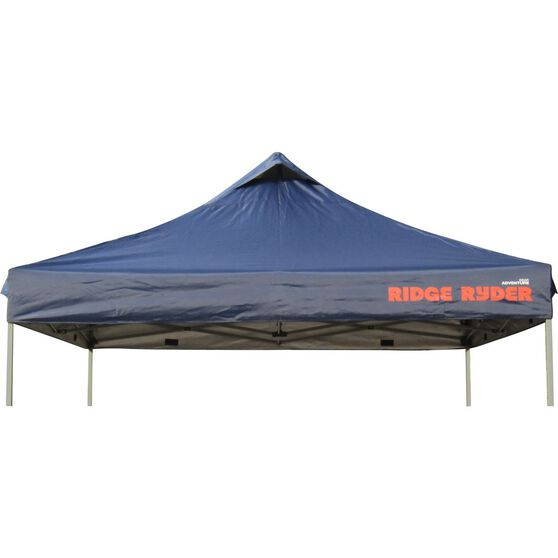Ridge Ryder Deluxe Gazebo Replacement Top - Blue, 3 x 3m, , scaau_hi-res