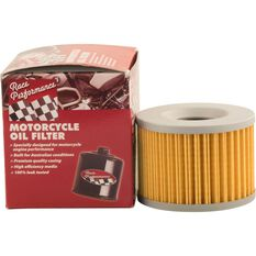 Race Performance Motorcycle Oil Filter - RP401, , scaau_hi-res