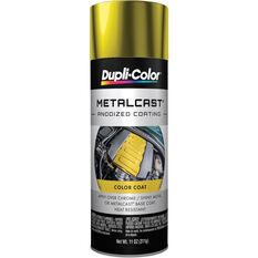 Dupli-Color Metalcast Aerosol Paint Enamel Yellow Anodised 311g, , scaau_hi-res