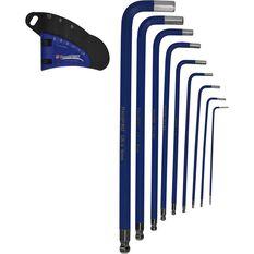 ToolPRO Long Hex Key Set - Metric, 9 Pieces, , scaau_hi-res