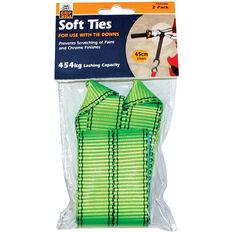 Soft Tie Loop Strap - 45cm, 454kg, 2 Pack, , scaau_hi-res