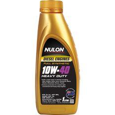 Nulon Full Synthetic Heavy Duty Diesel Engine Oil - 10W-40 1 Litre, , scaau_hi-res