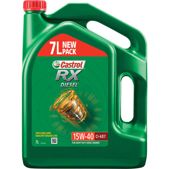 Castrol RX Diesel Engine Oil 15W-40 7 Litre, , scaau_hi-res