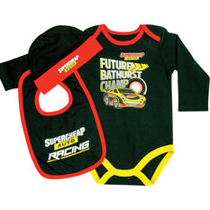 Bathurst Champ 3 Piece Gift Set - Short Coverall Size 1 Size 1 (12-18 months), , scaau_hi-res